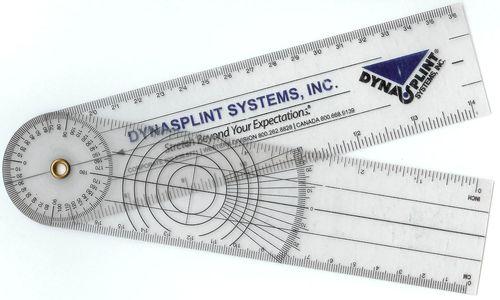 Dynasplint-goniometer