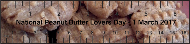 National Peanut Butter Lovers Day-2017 March 1