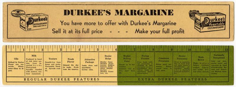 Durkee Margarine combo