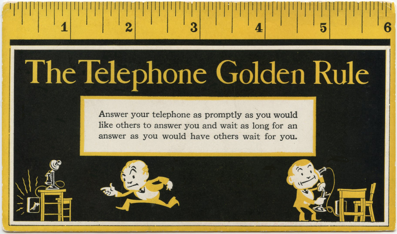 Telephone Golden Rule blotter-cropped