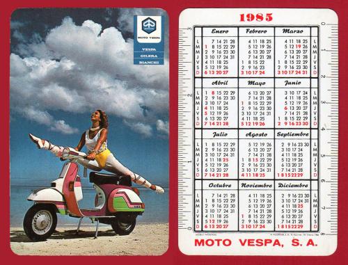 Moto Vespa 1983 combo