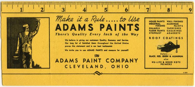 Adams Paints-Cleveland