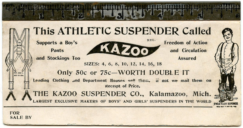 Kazoo Athletic Suspender cleaned2