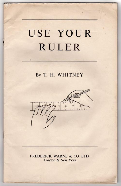 Whitney-UseYourRuler-cover