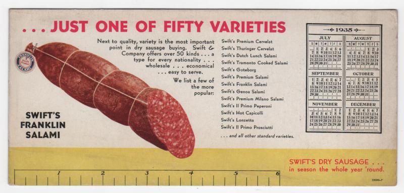 Swifts-Franklin-Salami-1935
