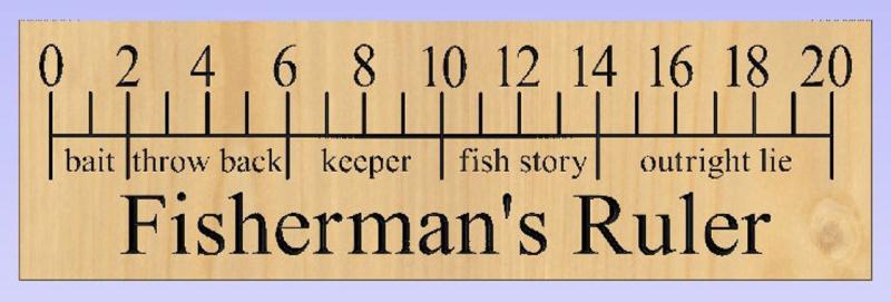 Fisherman ruler