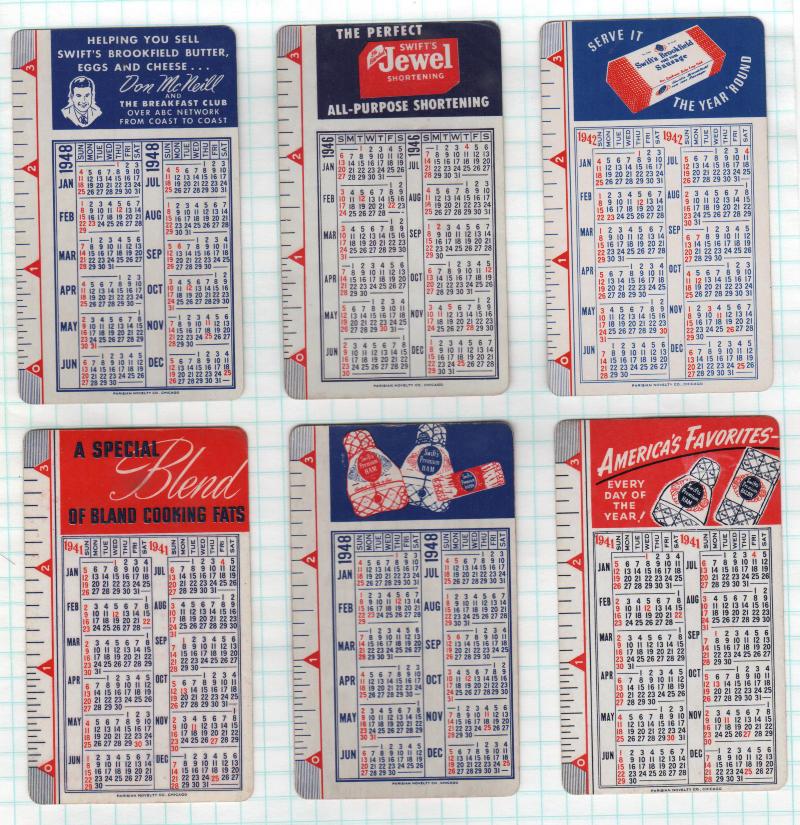 Swifts-6WC-1941-1948-calendar