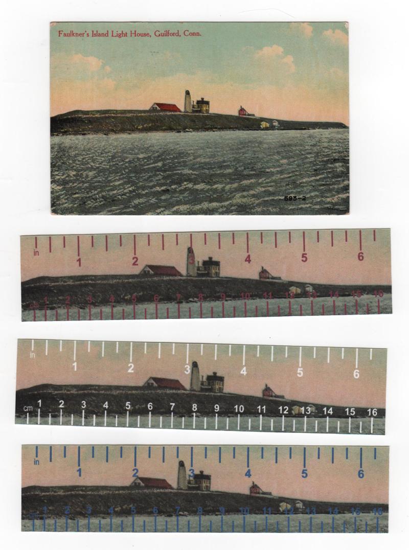 Postcard-3 rulers