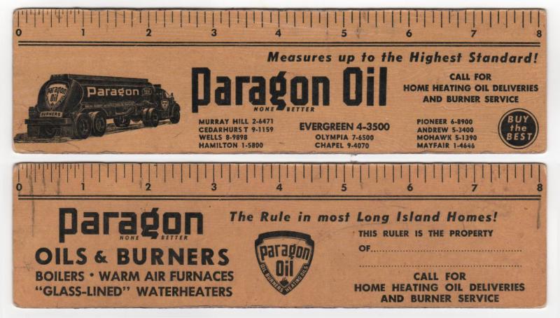 Paragon Oil-combo