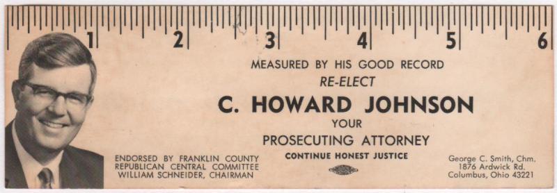C Howard Johnson-campaign